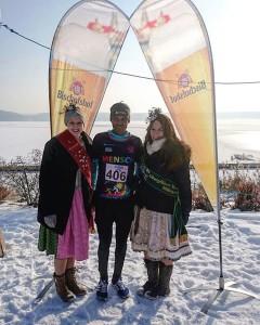 And the winner is: Wodaju Tulu von #LäuferMitHerz gewinnt wieder dem 10km-Auftaktlauf der 9. @high5_germany Oberpfälzer #Winterlauf Challenge am #SteinbergerSee  #SteinbergAmSee #WinterlaufWM #Laufen #Running #OberpfälzerSeenland #Sport #Oberpfalz #Wackersdorf #Schwandorf #Winterrun #High5 #Bischofshof #brrr