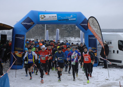 Winterlauf Challenge: Anmeldeschluss für Winterlauf-WM im Oberpfälzer Seenland