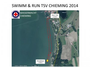 Schwimmstrecke Swim&Run