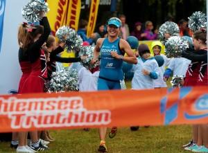Chiemsee Triathlon - Daniela Sämmler Zeilkanal [Foto Marathon Photos]