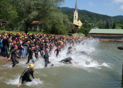 Schlickenrieder lobt Schliersee Alpen Triathlon, Steger und Viellehner gewinnen