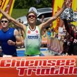 Thomas Steger gewinnt 4. Chiemsee Triathlon
