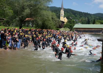 Wechselszene steigt bei Schliersee Alpen Triathlon aus