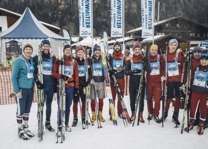 Gemeinsam fit zur Chiemgau Team Trophy: Offene Trainingsgruppe bereitet auf den Genuss-Langlauf vor