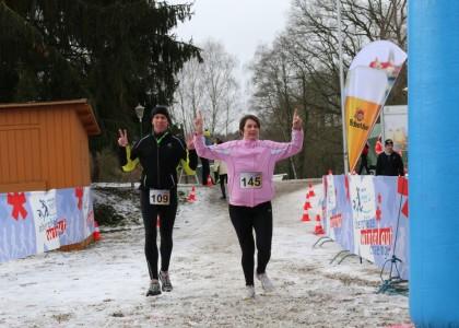Winterlauf Challenge: Die schönsten Bilder 2016 zum Zieleinlaufes vom 10-Kilometer-Laufs