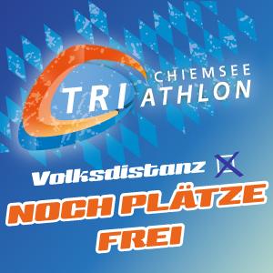 Chiemsee Triathlon: Reststartplätze auf der Volksdistanz sind noch zu haben