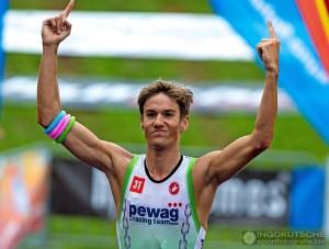 Thomas Steger gewinnt Chiemsee Triathlon