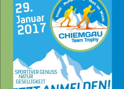 Chiemgau Team Trophy: Der Anmeldeschluss für den Erlebnislanglauf rückt näher. Jetzt noch anmelden!