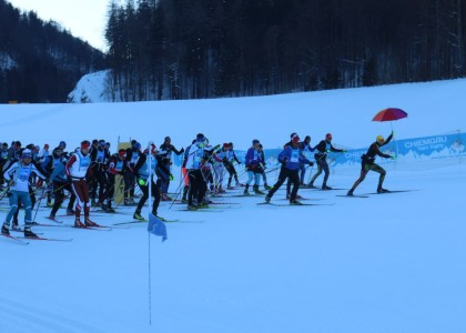 """Chiemgau Team Trophy: """"Hammer""""-Erlebnislauf im Winterwunderland"""
