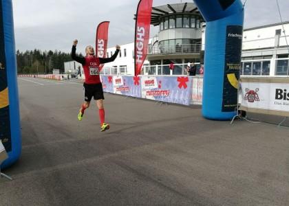 Winterlauf Challenge:  Hecht gewinnt 15-Kilometer-Lauf am Murner See