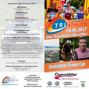 Firmenstaffel Chiemsse Triathlon Außen 2017