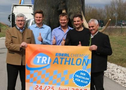 Chiemsee Triathlon; Logistiker Eberl wird Hauptsponsor des Chiemsee Triathlons