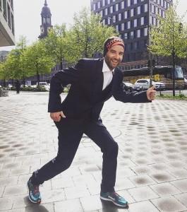 Auf WeltrekordJagd runningfelice kann den Start morgen beim haspamarathonhamburg kaumhellip