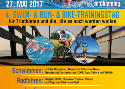 4. Swim&Run des TSV Chieming am 27. Mai bietet volles Trainings-Programm