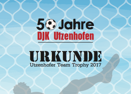 Utzenhofner Team Trophy 2017 Urkunden