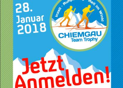 Chiemgau Team Trophy: Anmeldung für 4. Chiemgau Team Trophy öffnet