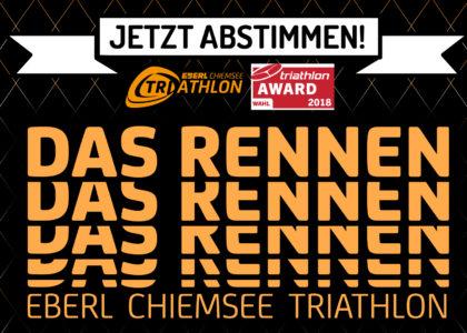 Triathlon-Awards 2018: Deine Stimme für den Chiemsee Triathlon