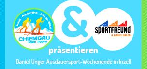 Hol dir Tipps vom Weltmeister: Daniel Unger leitet ein Ausdauersport-Wochenende in Inzell