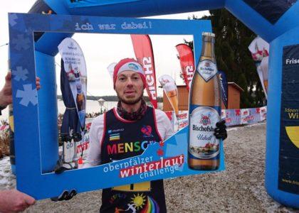 Oberpfälzer Winterlauf Challenge: Hecht gewinnt Auftakt der 10. Oberpfälzer Winterlauf Challenge am Steinberger See