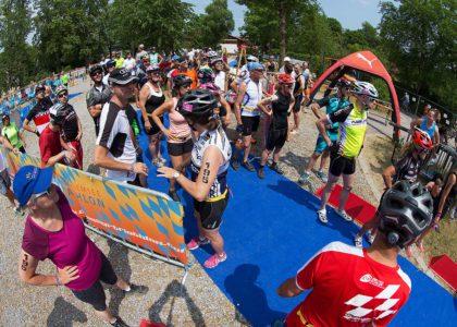 Wegen hoher Nachfrage wird Wechselzone  des EBERL Chiemsee-Triathlons ausgebaut