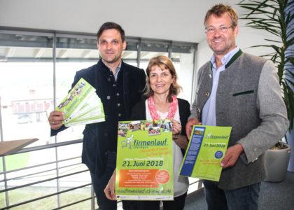 Firmenlauf Chiemgau steht in den Startlöchern: Sporteln, netzwerken und feiern am 21. Juni 2018 in Chieming