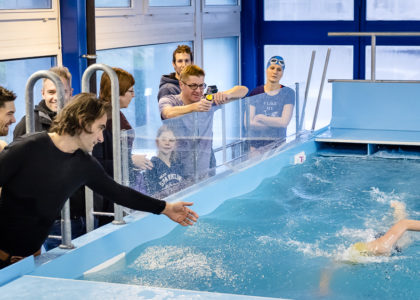 Arbeite an deiner Schwimmtechnik: Schwimmtechnik-Analyse Schwimmkanal Horgen 16. Dezember 2018