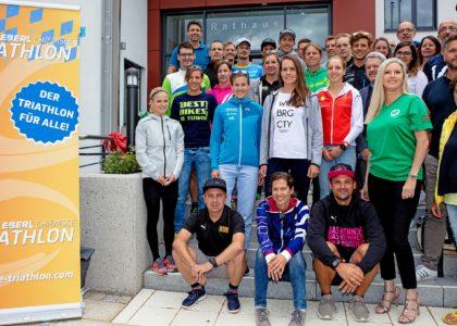 Kampfansagen und Lob vor dem 7. EBERL Chiemsee Triathlon
