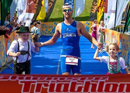 EBERL Chiemsee Triathlon: Landshuter Manuel Lohr gewinnt PUMA Volksdistanz
