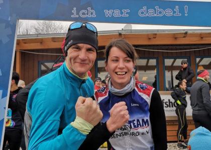 Oberpfälzer Winterlauf Challenge: Fotostrecke vom 10-km-Lauf online