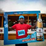 Traumhafte Winterlaufbedingungen beim ersten Lauf der Oberpfälzer Winterlauf Challenge