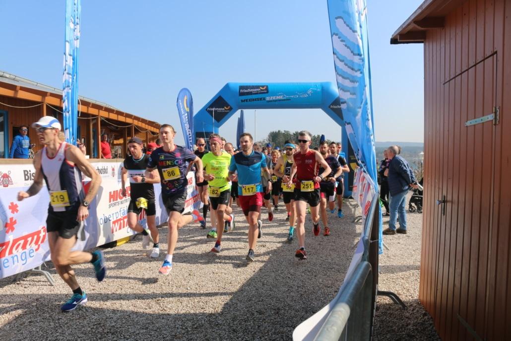 Start Oberpfälzer Winterlauf Challenge
